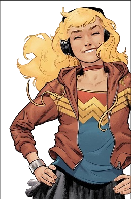 Wonder Girl (Cassie Sandsmark) - Wikipedia