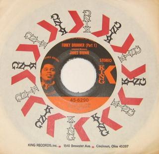 Funky Drummer 1970 song performed by James Brown