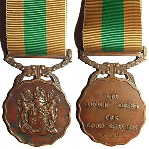Good Service Medal, Bronze