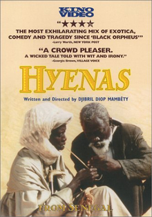 <i>Hyenas</i> (1992 film) 1992 film by Djibril Diop Mambéty