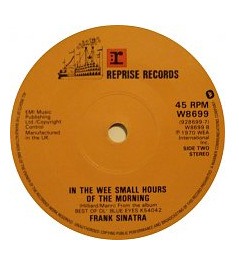 In the Wee Small Hours of the Morning 1955 song composed by David Mann performed by Frank Sinatra
