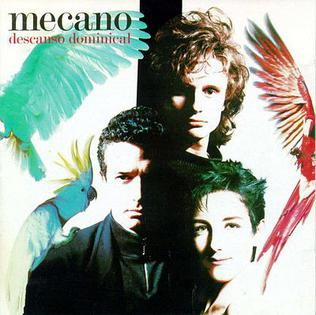 <i>Descanso Dominical</i> 1988 studio album by Mecano