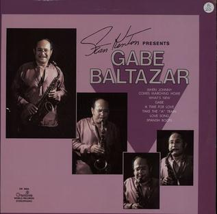 <i>Stan Kenton Presents Gabe Baltazar</i> 1979 studio album by Gabe Baltazar