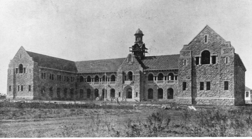 The Old Arts building in 1910, now a provincial heritage site