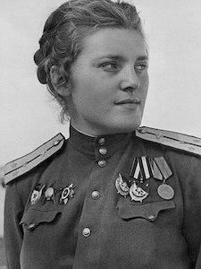 Zoya Parfyonova Heroine of the Soviet Union