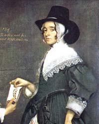 Tradescant's wife, also attributed to Thomas de Critz Ester Tradescant and son detail.jpg