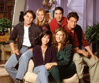 Cast of Friends.