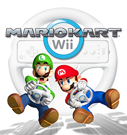 <i>Mario Kart Wii</i> racing video game