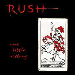 Titelbild des Gesangs One Little Victory von Rush