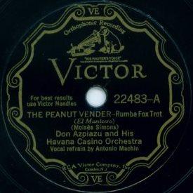 The Peanut Vendor 1930 song composed by Moisés Simons
