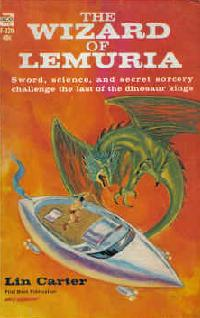 <i>The Wizard of Lemuria</i> book by Lin Carter