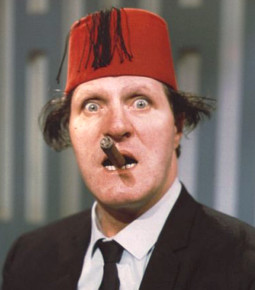 Tommy Cooper Welsh comedian and magician