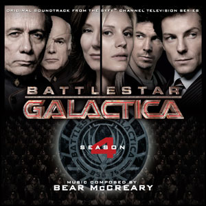Battlestar Galactica Season 4 soundtrack cover art