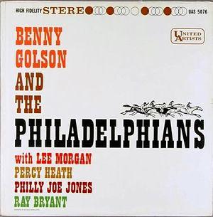 <i>Benny Golson and the Philadelphians</i> 1958 studio album by Benny Golson