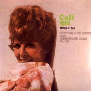 <i>Call Me</i> (Petula Clark song) song composed by Tony Hatch for Petula Clark
