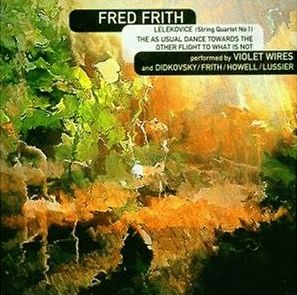 <i>Quartets</i> (Fred Frith album) 1994 studio album by Fred Frith