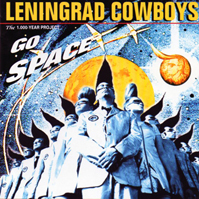 <i>Go Space</i> 1996 studio album by Leningrad Cowboys and the Alexandrov ensemble