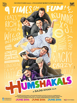 Humshakals (2014) Watch Online Full Movie Free Download Hindi Movie DVDScr