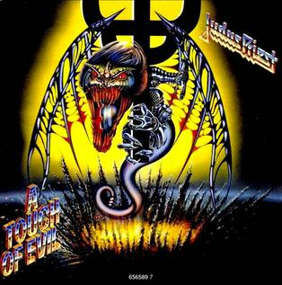 A Touch of Evil 1991 single by Judas Priest