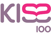 Kiss 100's logo from 1999 to 2006.