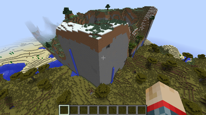 Map seed wikiwand the effect of loading a map originally generated in minecraft 164 in minecraft 17 gumiabroncs Images