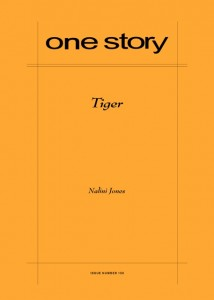 One Story (magazine) cover tiger.jpg