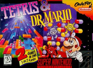 <i>Tetris & Dr. Mario</i> 1994 puzzle video game published by Nintendo