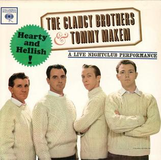 <i>Hearty and Hellish!</i> 1962 live album by The Clancy Brothers and Tommy Makem