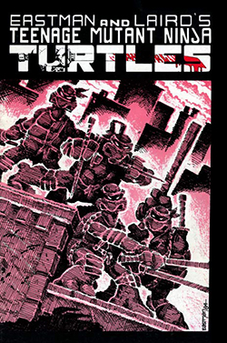 Cover of Teenage Mutant Ninja Turtles #1