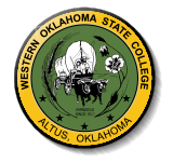Western OK State College seal.png