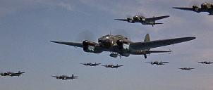 The Luftwaffe armada included over 50 real aircraft. (screenshot)
