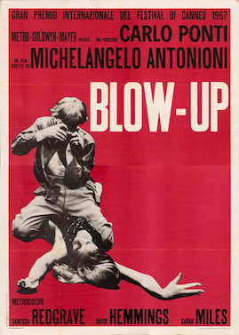 Blow-Up (1966) movie poster