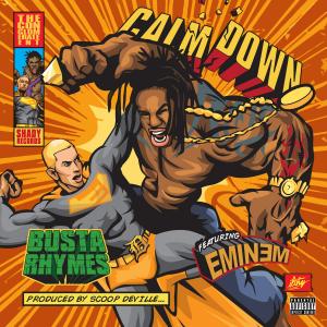 Busta Rhymes featuring Eminem — Calm Down (studio acapella)