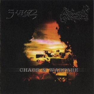<i>Chaos & Warfare</i> 2002 compilation album by Kekal/Slechtvalk