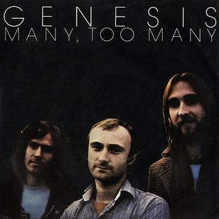 Many Too Many 1978 single by Genesis