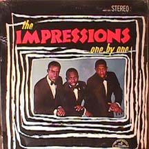 <i>One by One</i> (The Impressions album) album by The Impressions