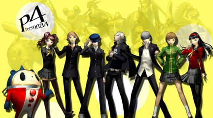 30 Questions: Video Game Style P4characters