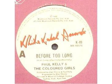 Cover image of song Before Too Long by Paul Kelly