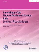 <i>Proceedings of the National Academy of Sciences, India Section A</i>