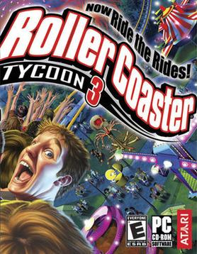 Picture of a game: Rollercoaster Tycoon 3
