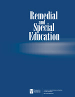 <i>Remedial and Special Education</i> journal