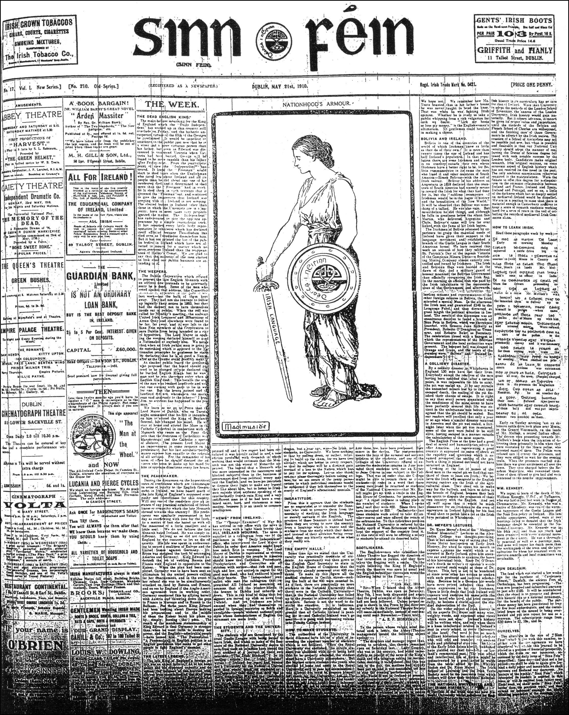 Sinn Féin (newspaper) - Wikipedia