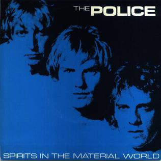 audiofuzz, the police, spirits in the material world, ghosts in the machine, sting