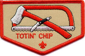 graphic about Whittling Chip Card Printable known as Totin Chip - Wikipedia