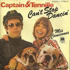 Cant Stop Dancin (Captain & Tennille song) 1977 single by Captain & Tennille