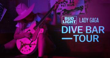 Lady Gaga Dive Bar Tour Las Vegas