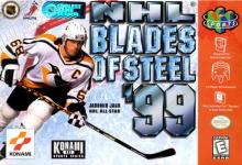 NHL Blades of Steel '99 box art.