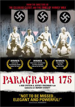 (2000): Muy, muy triste. Cinco ancianos homosexuales que vivieron el horror nazi en su juventud. EXCELENTE.