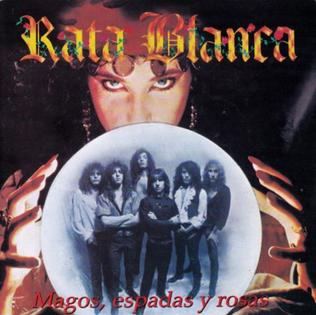 <i>Magos, espadas y rosas</i> 1990 studio album by Rata Blanca