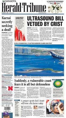 Sarasota heroldo-tribunfrontpage.jpg